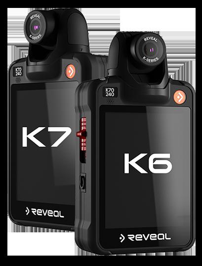 K6 and K7 Body Cameras